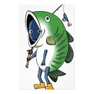 Fisherman 3 English story Kinugawa Tochigi Stationery