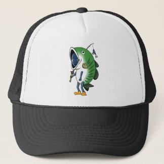 Fisherman 3 English story Kinugawa Tochigi Trucker Hat