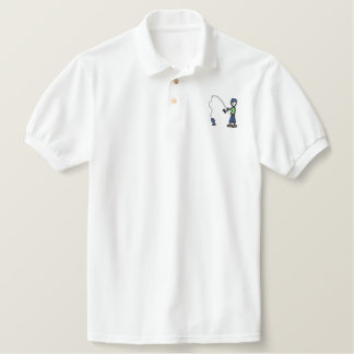 Fisherman Embroidered Shirt
