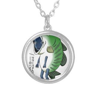 Fisherman English story Kinugawa Tochigi Silver Plated Necklace