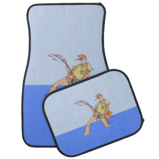 Fisherman Inside car mats front and rear