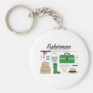 Fisherman Key Ring