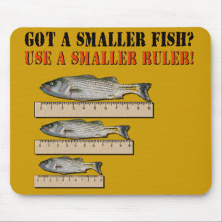 Fisherman Liar Mousepad