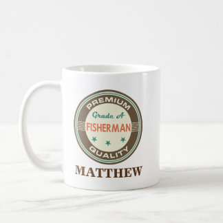 Fisherman Personalized Office Mug Gift