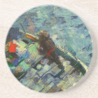 fisherman_saikung Hong Kong Coasters