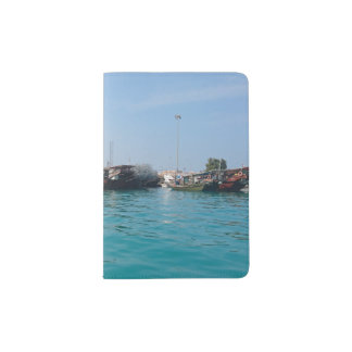 Fisherman's Harbour Custom Passport Holder