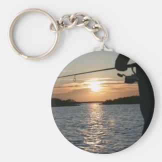 Fisherman's Sunset Key Ring