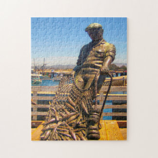 Fisherman's Wharf California. Jigsaw Puzzle