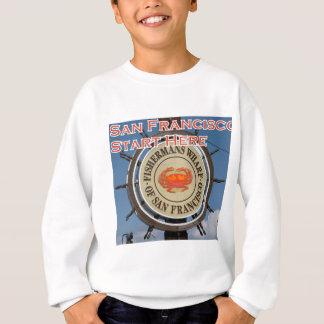 Fishermans Wharf San Francisco California USA CA Sweatshirt