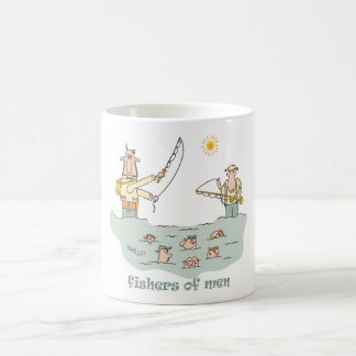 Fishers at the Pond Coffee Mug