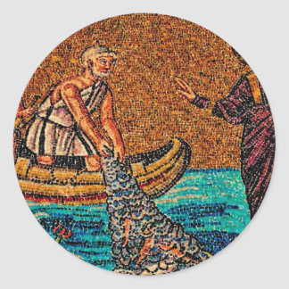 Fishers of Men Classic Round Sticker