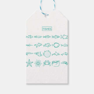 Fishes Gift Tags