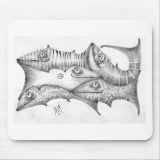 Fishes Mouse Pad