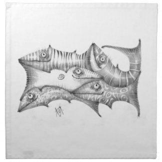 Fishes Napkin