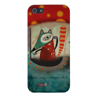 Fishes Navigation System iPhone 5 Cases