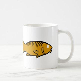 fishes swimming coffee mug