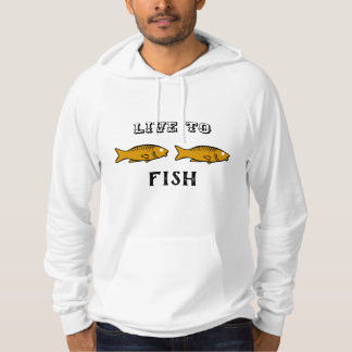 fishes swimming hoodie