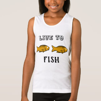 fishes swimming singlet