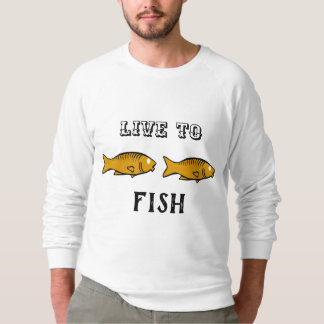 fishes swimming sweatshirt