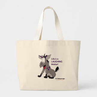 Fishfry designs hyena tote bag
