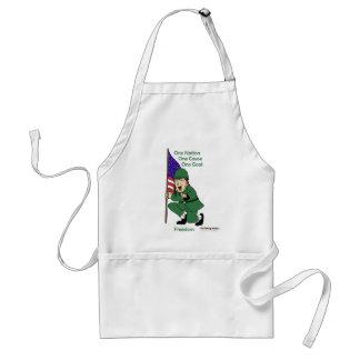 Fishfry designs One phrase apron