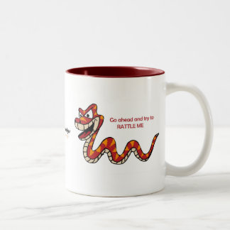 Fishfry designs Rattler Bi-color coffee mug