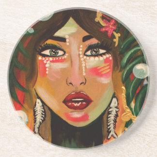 Fishgirl Coasters