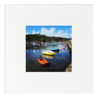 Fishguard Harbor, Wales Acrylic Wall Art