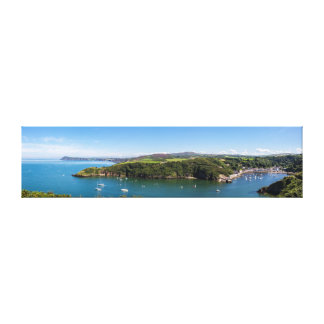 Fishguard Harbour Canvas Print