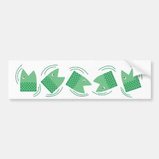 Fishheads Bumper Sticker