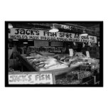 Fishin' at Pike Place Market Posters