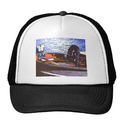 fishin boat trucker hats