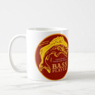 Fishin' Musician Bass Player Mug
