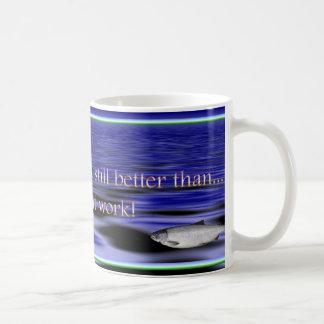 fishing 2 coffee mug