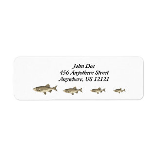FISHING ADDRESS LABELS