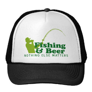 Fishing and Beer Trucker Hats