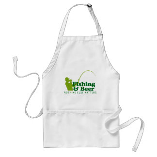 Fishing and Beer Standard Apron