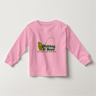 Fishing and Beer Toddler T-Shirt