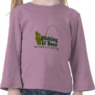 Fishing and Beer Tee Shirt