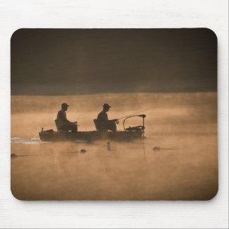 Fishing at Dawn Mouse Pad