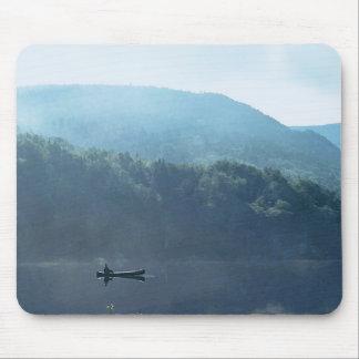 Fishing at Saco Lake New Hampshire Mousepad