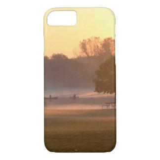 Fishing at Sunrise iPhone 8/7 Case
