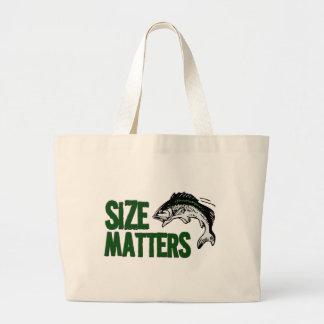 Fishing Bag - Size Matters! Fishing Humor
