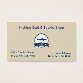 Fishing Bat And Tackle Business Card