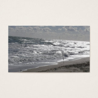 Fishing Beaches and Dreams Business Card