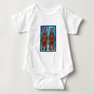FISHING BEARS BEST BABY BODYSUIT