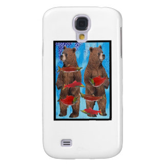 FISHING BEARS BEST GALAXY S4 CASES