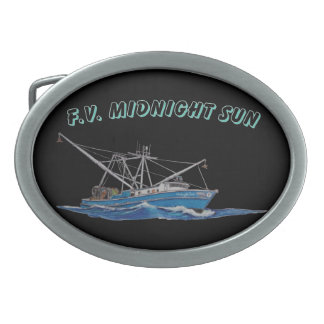 fishing boat belt buckle