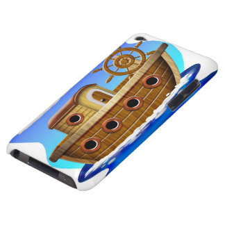 Fishing Boat Cartoon Barely There iPod Cases