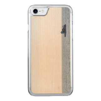 Fishing Boat Carved iPhone 7 Case